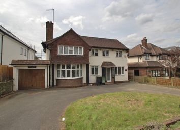 Thumbnail 4 bed detached house to rent in New Forest Lane, Chigwell