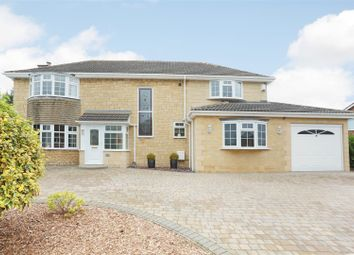 Thumbnail 4 bed detached house for sale in Sandringham Road, Lawn, Swindon