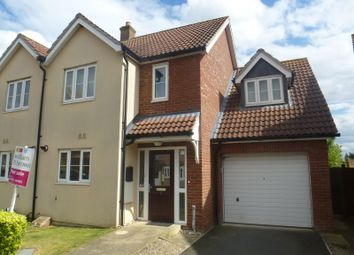Thumbnail 3 bed semi-detached house for sale in Merchants Court, Watton, Thetford