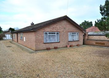 Thumbnail 4 bed detached bungalow for sale in Green Lane, South Wootton, King's Lynn