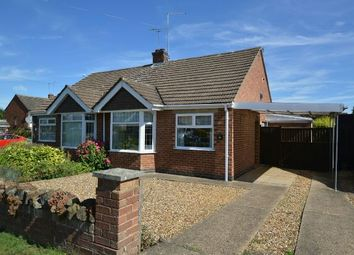 Thumbnail 2 bedroom semi-detached bungalow for sale in Rawley Crescent, Duston, Northampton