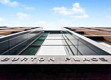 Thumbnail 1 bed flat for sale in Burton Place, Manchester