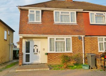 Thumbnail 3 bedroom semi-detached house to rent in Cox Lane, Chessington