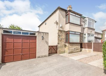 Thumbnail 2 bed semi-detached house for sale in Welwyn Avenue, Shipley