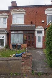 Thumbnail 1 bed terraced house to rent in Ridgeway, Birmingham