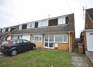 Thumbnail 3 bedroom semi-detached house for sale in Grasscroft, Kingsthorpe, Northampton