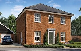 Thumbnail 4 bedroom detached house for sale in Silfield Road, Wymondham
