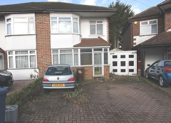 Thumbnail 3 bed semi-detached house for sale in Bideford Close, Edgware, Greater London.