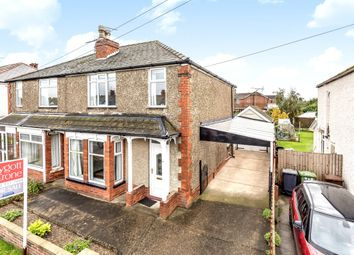 Thumbnail 3 bed semi-detached house for sale in Bunkers Hill, Lincoln