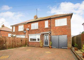 Thumbnail 4 bed semi-detached house for sale in School Lane, Bempton, Bridlington