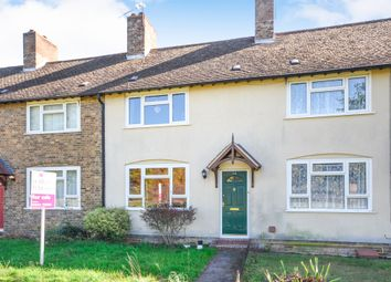 Thumbnail 2 bedroom terraced house for sale in Poplar Close, Honington, Bury St. Edmunds