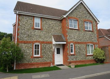 Thumbnail 3 bedroom detached house for sale in Bronze Close, Beggarwood, Basingstoke