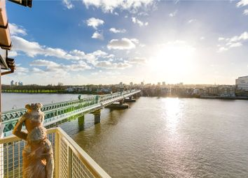 Thumbnail 2 bed flat for sale in Carrara Wharf, Ranelagh Gardens, London