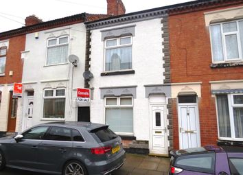 Thumbnail 3 bed terraced house for sale in Beatrice Road, Leicester