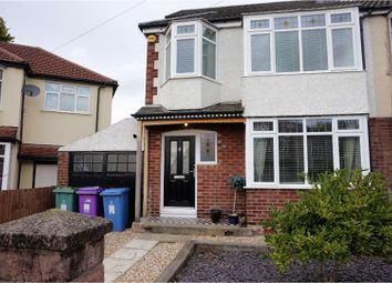 Thumbnail 4 bed semi-detached house for sale in Ashlar Road, Liverpool