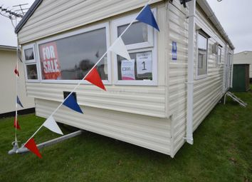 Thumbnail 2 bed mobile/park home for sale in Broadland Sands Holiday Park, Coast Road, Corton, Lowestoft