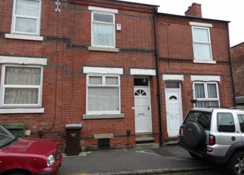 Thumbnail 2 bed terraced house for sale in Ewart Road, Forest Fields, Nottingham