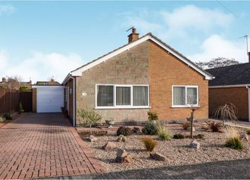Thumbnail 3 bed bungalow for sale in Brookes Avenue, Croft, Leicester, Leicestershire