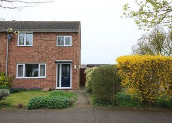 Thumbnail 3 bed semi-detached house for sale in Emery Close, Brampton, Huntingdon