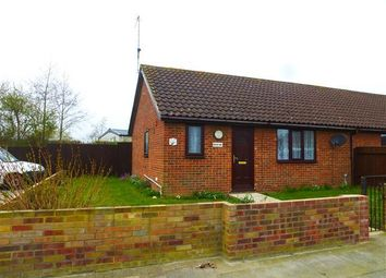 Thumbnail 2 bedroom bungalow to rent in John Road, Caister-On-Sea, Great Yarmouth