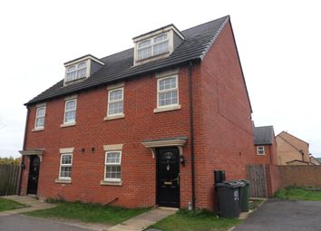 Thumbnail 3 bed semi-detached house for sale in Broomer Street, Ravensthorpe, Dewsbury, West Yorkshire