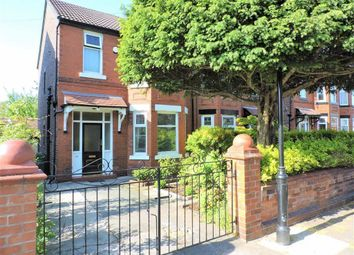 Thumbnail 3 bedroom semi-detached house for sale in Kingsway Avenue, Burnage, Manchester