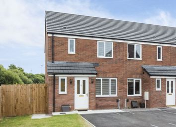 Thumbnail 3 bed end terrace house for sale in Cefn Adda Close, Newport