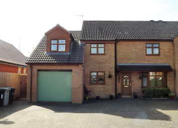 Thumbnail 4 bedroom semi-detached house for sale in St. Leonards Close, Woodhall Spa