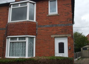 Thumbnail 3 bed semi-detached house to rent in Reasby Avenue, Ravenfield, Rotherham