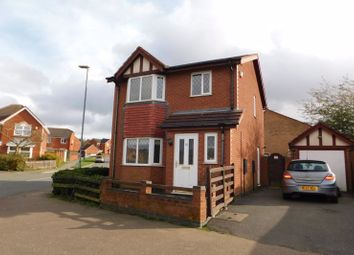 Thumbnail 3 bed detached house for sale in Botts Way, Coalville