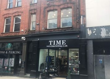 Thumbnail Retail premises for sale in 10-12 Guildhall Street, Preston, Lancashire