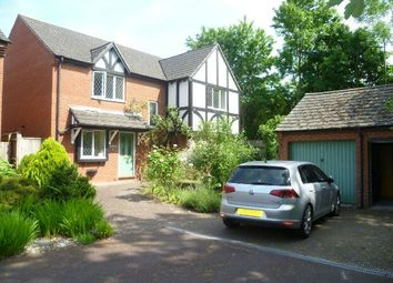 Thumbnail 4 bed detached house for sale in Progress Close, Ledbury