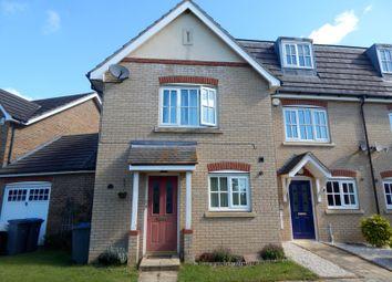 Thumbnail 3 bed end terrace house to rent in Lyle Close, Grange Farm, Kesgrave