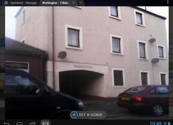 Thumbnail 2 bed flat to rent in Gray Street, Workington