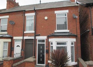 Thumbnail 2 bedroom end terrace house for sale in Grosvenor Road, Eastwood, Nottingham