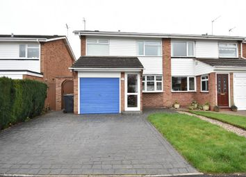 Thumbnail 3 bed semi-detached house for sale in Hartford Road, Bromsgrove