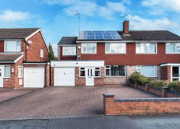 Thumbnail 4 bed detached house for sale in Longdown Road, Congleton