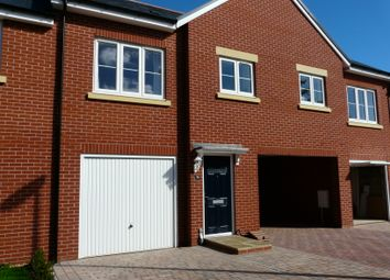 Thumbnail 2 bed terraced house to rent in Webbers Way, Tiverton