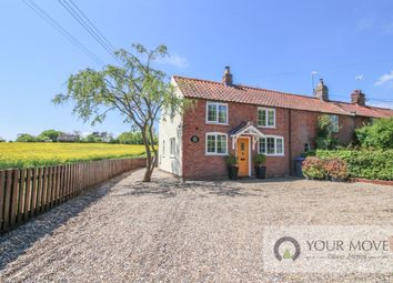 Thumbnail 2 bed semi-detached house for sale in Back Road, Wenhaston, Halesworth