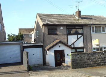 Thumbnail 3 bedroom semi-detached house for sale in Heol Trewilliam, Tonypandy