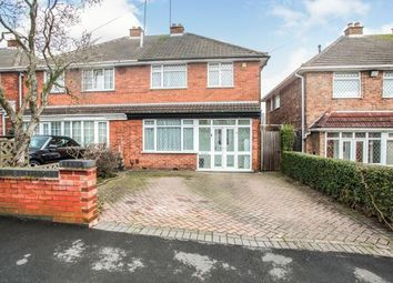 Thumbnail 3 bed semi-detached house for sale in Berkswell Road, Coventry, West Midlands