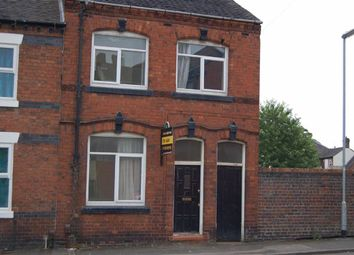 Thumbnail 3 bed end terrace house for sale in Warwick Street, Chesterton, Newcastle