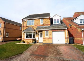 Thumbnail 4 bed detached house for sale in Heathcroft, Cherry Willingham
