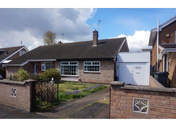 Thumbnail 2 bedroom bungalow for sale in Ivydale Road, Thurmaston