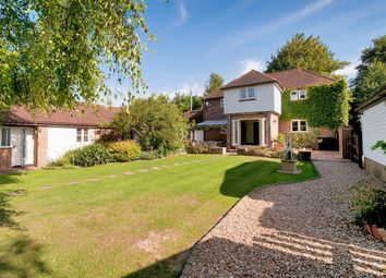 Thumbnail 4 bed detached house for sale in Pilgrims Way, Hollingbourne, Maidstone