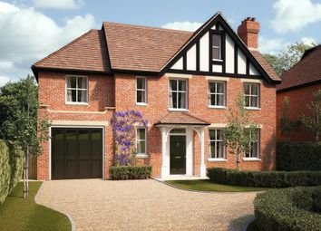 Thumbnail 5 bed detached house for sale in New Wokingham Road, Crowthorne