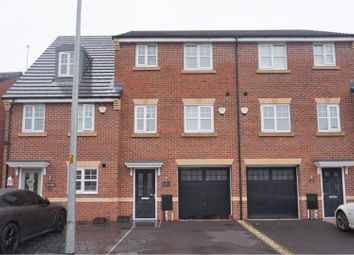 Thumbnail 4 bed town house for sale in Roseway Avenue, Manchester