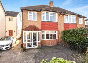 Thumbnail 3 bed semi-detached house for sale in Newtown Road, Denham, Uxbridge, Middlesex