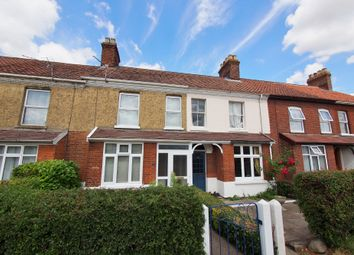 Thumbnail 2 bed terraced house for sale in Norwich Road, Wymondham