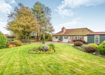 Thumbnail 4 bed detached bungalow for sale in Rectory Road, Suffield, Norwich